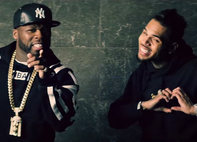 50 Cent And Chris Brown Storm Strip Club In 'No Romeo No Juliet' Video -WATCH!