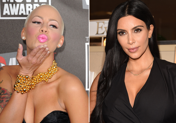 Amber Rose Shuts Down Reports About Her Dissing The Kardashians