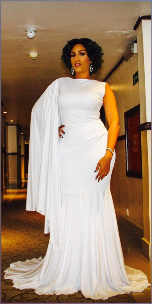 Beautiful Actress Juliet Ibrahim Steps Out In All White -PHOTOS