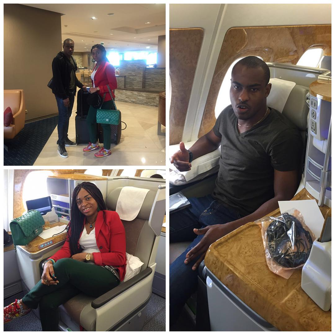Fun s From Vincent Enyeama s Family Wedding Anniversary