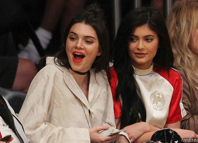 Kylie Jenner Steps Out For Dinner With Kendall In Sexy Lingerie