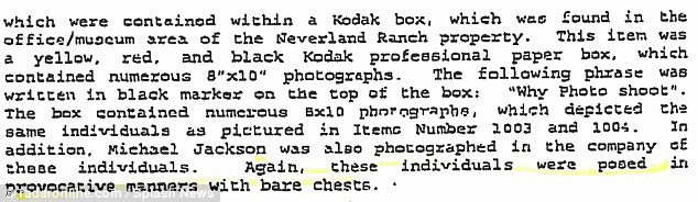 Michael Jackson's Ponography Collection Of Young Male Erotica Found In Raid