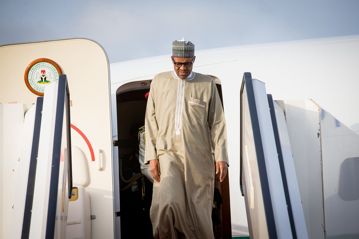 President Buhari Returns To Nigeria After 10-Day Medical Vacation