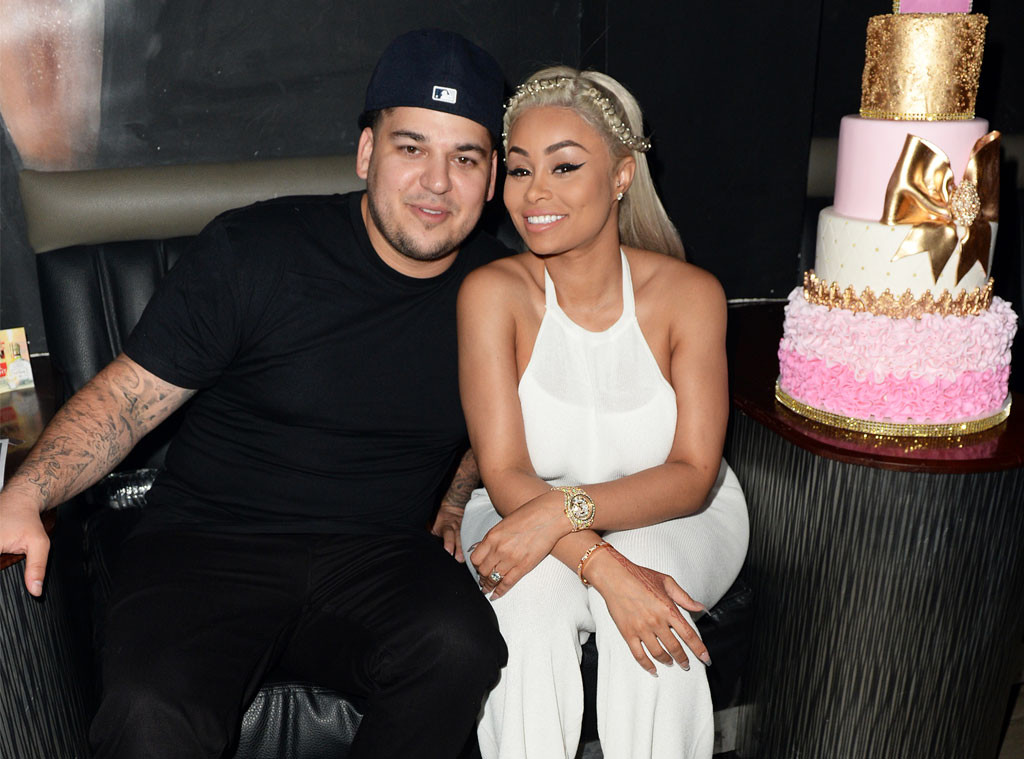 Rob Kardashian Asks Blac Chyna to Cancel All of Her Club Appearances Due To Orlando Shooting