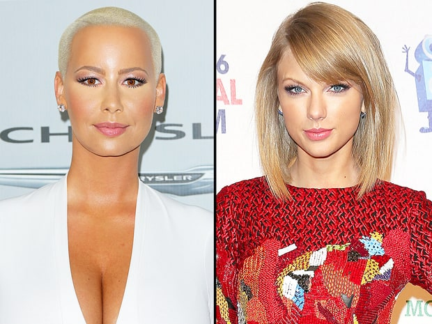 'She Doesn't Need Time to Let Her P***y Rest' -Amber Rose Weighs In On Taylor Swift's New Romance