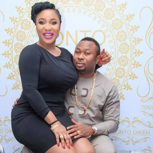 Tonto Dikeh Compares Her B00bs To Her Husband's Head