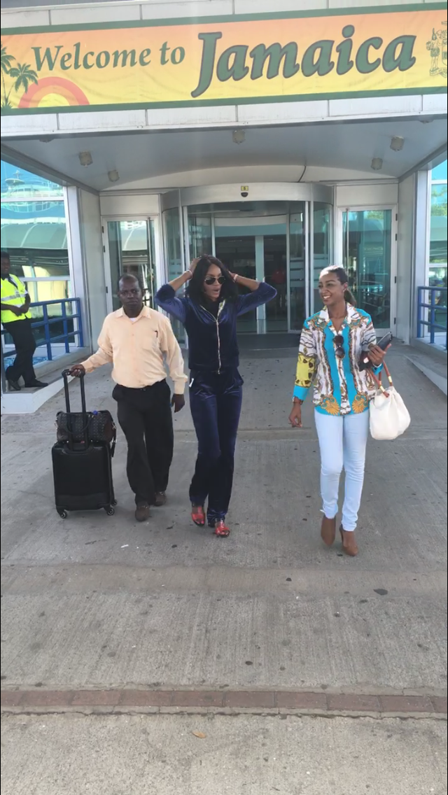 VISUALS: Seyi Shay To Deliver Lecture At Jamaican University
